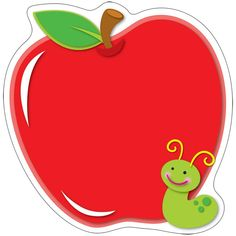 Carson-Dellosa Apple Two-Sided Decoration Teacher Apple Classroom, Classroom Decor, 1st Day Of School, Back To School Gifts, Teacher Appreciation Week, Teacher Gifts, Apple Clip Art, Cubby Tags, Leaf Stencil