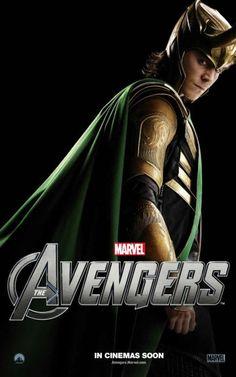 Avengers Loki poster.