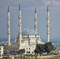 Nizamiye Turkish Masjid - South Africa - 55m high minarets