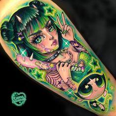 Scary Tattoos, Anime Tattoos, Badass Tattoos, Cute Tattoos, Beautiful Tattoos, Tatoos, Care Bear Tattoos, Mommy Tattoos, Feminine Tattoo Sleeves