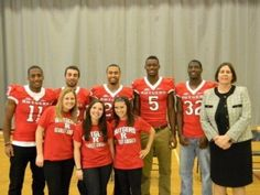 Rutgers football players share anti-bullying message with sixth graders