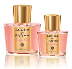 Acqua-di-Parma-Rosa-Nobile- mandarin, bergamot, black pepper Italian centifolia rose, lily of the valley, violet, peony cedar, ambergris, musk