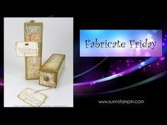 Fabricate Friday – Traveling gift | SuNN Stampin'
