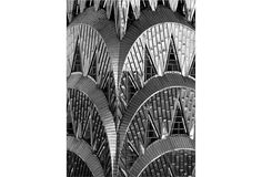 Classic art deco design...gorgeous!  Close-up of the Chrysler Building (photo by George Hammerstein)