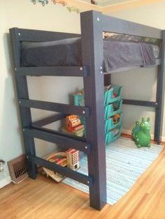 Buying Bunk Beds For Kids – Bunk Beds for Kids Build A Loft Bed, Loft Bed Plans, Murphy Bed Plans, Boys Loft Beds, Loft Bunk Beds, Kid Beds, Loft Bed Frame, Diy Bed Frame, Bunk Bed Designs