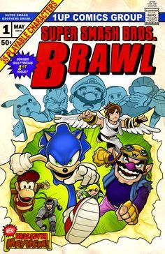 Super Smash Bros. Brawl Uncanny X-Men parody.