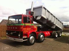 volvo f7 8x4 tipper SOLD (1979)