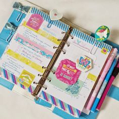 Webster's Pages Sky Blue Color Crush Planner:: Anabelle O'Malley