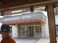 Renaissance Hotel Entrance