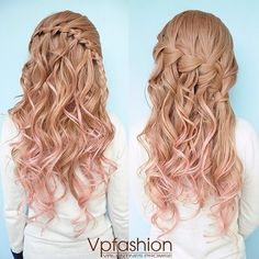 light ash brown ombre indian remy clip in hair extensions-ms14p1