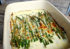 Say hello to our new favorite asparagus dish. We all love asparagus in this house and I use it whenever I can. I roast it in the oven wi. Asparagus Dishes, Creamy Asparagus, Baked Asparagus, Vegetable Salad, Vegetable Side Dishes, Holiday Appetizers, Original Recipe, Food And Drink, Veggies