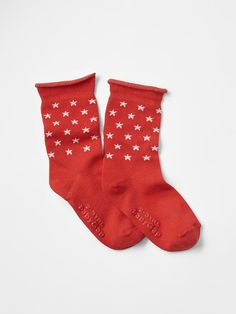 Starry rolled socks Product Image