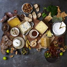 Simple to prepare but high on wow factor, a cheese board is unquestionably an ideal way to do appetizers. But with hundreds of cheeses and accompaniments to choose from, how do you decide what to serve? Follow these rules of thumb and you can't go wrong. Or let us do the work for you: just replicate this board.