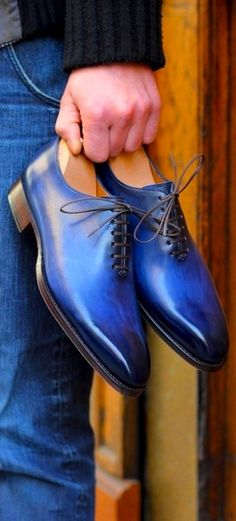 Shoes in blue