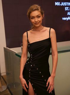 Gigi Hadid attends the Aperture Gala in New York, October 30th.