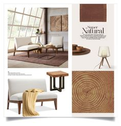 """""""The Visual beauty of wood"""" by magdafunk ❤ liked on Polyvore featuring interior, interiors, interior design, home, home decor, interior decorating, Madison Park, Safavieh, Triumph and Art Addiction"""