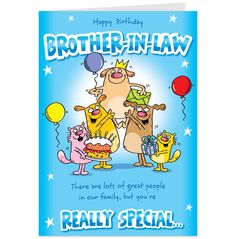Happy Birthday Brother Funny Messages Really Special In Law