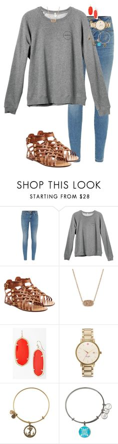 """A is for Alex and Ani// Read D"" by evamstewart24 ❤ liked on Polyvore featuring Burberry, RVCA, Valentino, Kendra Scott, Kate Spade and Alex and Ani"