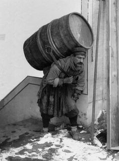 Water carrier from Tiflis, 1900's.