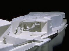 Steven Holl - Ile Seguin (Fondation Francois Pinault. Concept  - 'A throw of the dice'