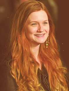 Bonnie Wright.  I've only seen the first Harry Potter film, but I can be persuaded to watch the rest.