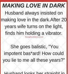 Husband making Love in Dark