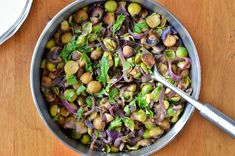 Gluten Free SCD and Veggie: Brussels Sprouts with Chestnuts, Red Onion and Mushrooms GF SCD