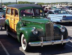 1941 Packard Station Wagon..Re-pin brought to you by agents of #Carinsurance at #HouseofInsurance in Eugene, Oregon