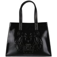 Kenzo Bags (400 BAM) ❤ liked on Polyvore featuring bags, handbags, black, kenzo bag, kenzo handbags, snap bag and kenzo