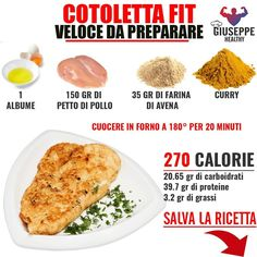 Conseils fitness en nutrition et en musculation. Healthy Cooking, Healthy Eating, Healthy Recipes, Pollo Light, Cena Light, Gym Food, Nutrition, Fake Food, No Calorie Foods