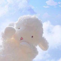 Soft Wallpaper, Kawaii Wallpaper, Galaxy Wallpaper, Cute Cartoon Wallpapers, Pretty Wallpapers, Cute Sheep, Happy Photos, Pretty Sky, Cute Stuffed Animals