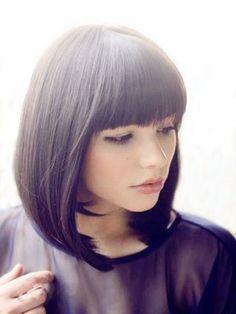 Perruque Flatteuse Lisse Cheveux Humains Capless