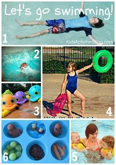 Let's Go Swimming - Activities for Kids by Holly at Kids Activities Blog