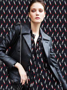 """The Look"" Diana Moldovan for Vogue Mexico September 2015 Fashion Photography Inspiration, Photoshoot Inspiration, Foto Fashion, Fashion Models, Diana Moldovan, Irina Lazareanu, Catrinel Menghia, Conversational Prints, Fashion Cover"