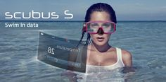 Scubus S: Underwater Communications, Video Recording And HUD In A Diving Mask ... see more at Inventorspot.com