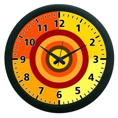 Dart Wall Clock (With Glass)