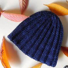 Steinway Hat Free Knitting Pattern. Worsted yarn, easy ribbing, and from AllFreeKnitting.com
