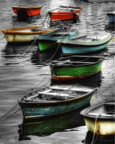 boats of color