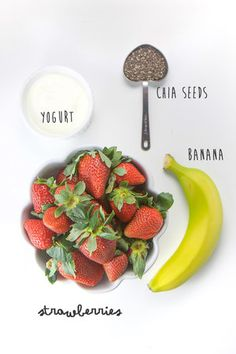 3 No-Cook Toddler Squeeze Pouch Recipes - Jane L - 3 No-Cook Toddler Squeeze Pouch Recipes Strawberry yogurt with chia seeds - Baby Puree Recipes, Pureed Food Recipes, Yogurt Recipes, Baby Food Recipes, Pudding Recipes, Coconut Recipes, Kid Recipes, Chicken Recipes, Recipies