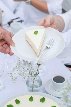 Rezept für ein weißes Dessert für ein Diner en blanc oder White Dinner