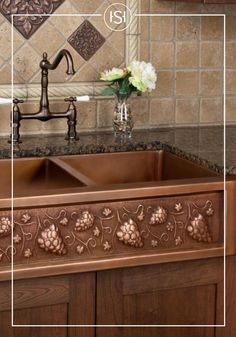 If you love cooking up Italian favorites in your kitchen, then this copper farmhouse sink may be just the kitchen decor you need. Whether you're remodeling your kitchen or simply looking for a quick update, Signature Hardware will help you complete the Tuscan look in your space.