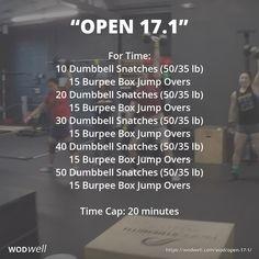 Box Jump Workout, Wod Workout, No Equipment Workout, Workout Ideas, Fitness Workouts, Crossfit At Home, Crossfit Wods, Open Crossfit, Fitness Activity Tracker