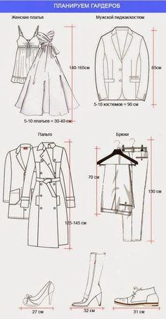 Dressing : hauteur vêtements