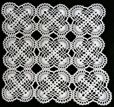 This Pin was discovered by bil Crochet Round, Filet Crochet, Crochet Motif, Crochet Doilies, Easy Crochet, Crochet Lace, Crochet Stitches, Crochet Patterns, Crochet Bedspread