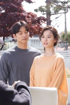 Jung Yumi & Gong Yoo in behind the scene photos of 'Kim Ji Young: Born poster shoot! Train To Busan Movie, Goong Yoo, Goblin Gong Yoo, Yoo Gong, Korean Entertainment, Scene Photo, Korean Actors, Kdrama