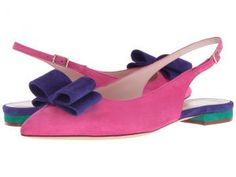 Kate Spade New York Brielle (Pink Swirl/Ink Blue Kid Suede) Women's Shoes