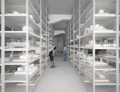 現代建築模型博物館ができるらいい。  住所:東京都品川区東品川2-6-10 寺田倉庫本社ビル1F 運営:一般財団法人 建築文化保存機構 ※2015年8月頃オープン予定