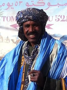 The Blue People of The Sahara. Traveling nomad style in the villages bordering Western Sahara.