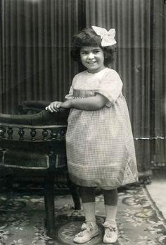 Frida Khalo at age 4
