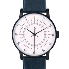 Squarestreet's new Plano watch is designed to reference luxury Swiss watches of the mid-20th century, and features the brand's signature concentric circles.